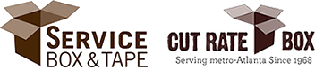 <strong>Service Box & Tape | Cut Rate Box</strong> Logo
